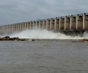 Mahabubnagar (Telangana): Jurala Project flood gates opened