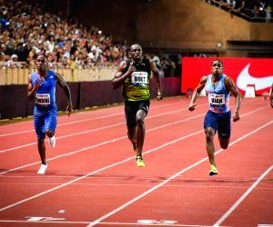 MONACO-FONTVIEILLE-IAAF DIAMOND LEAGUE-MEN'S 100M