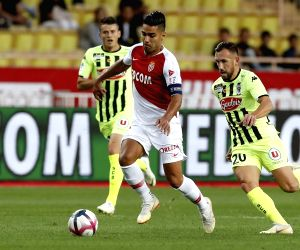 MONACO-FONTVIEILLE-FOOTBALL-LIGUE 1-ANGERS VS MONACO