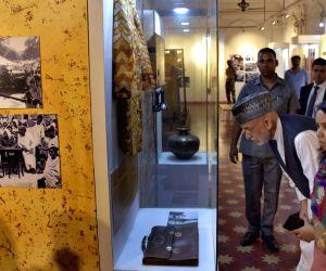 Hamid Karzai visits Partition Museum