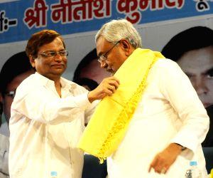 Nitish Kumar during a programme