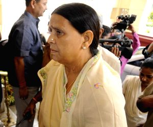 Rabri Devi arrives at Bihar Legislative Council