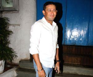 Mumbai: Sachin Tendulkar's birthday celebration - Ajit Agarkar