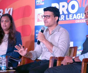 Mentors Pro Star League's programme - Sourav Ganguly