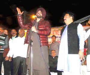 Navjyot Singh Sidhu during a BJP election campaign