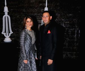 Zaheer Khan and Sagarika Ghatge's post wedding party - Ajit Agarkar and Fatima Ghadially
