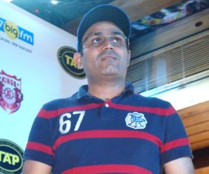Meet and greet session with Virender Sehwag