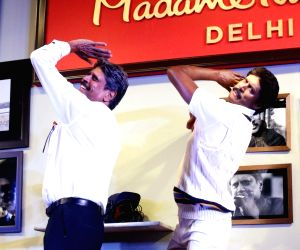 Kapil Dev at Madame Tussauds