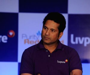 Sachin Tendulkar launches Livpure water purifier