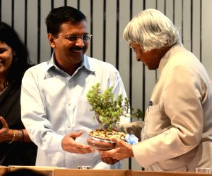 APJ Abdul Kalam at Delhi Secretariat