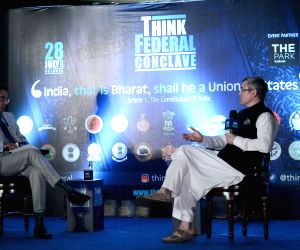 Think Federal Conclave' - Omar Abdullah, Derek O'Brien