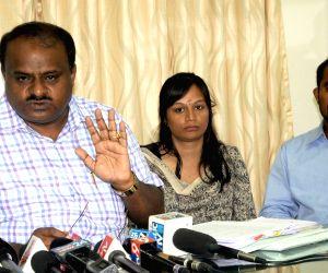 HD Kumaraswamy's press conference