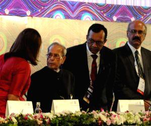 Pranab Mukherjee at the inaugural session of APDW 2019