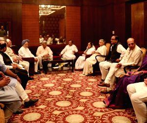 Former President Pratibha Patil, Former Prime Minister Manmohan Singh, CPI-M General Secretary Sitaram Yechury, Loktantrik Janata Dal leader Sharad Yadav, RJD leader Manoj Jha, Trinamool ...