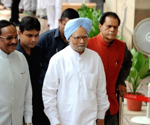 Vice presidential election- Manmohan Singh