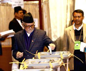 NEPAL KATHMANDU VP ELECTION