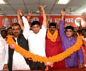 Sanoj Yadav joins BJP