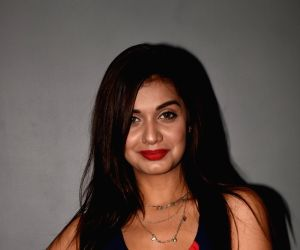 Divya Agarwal during a programme