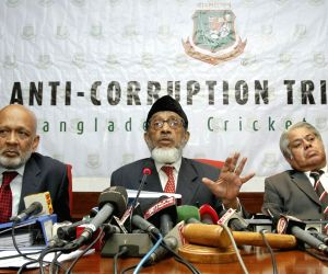 Dhaka (Bangladesh): Khademul Islam Chowdhury's Press Conference