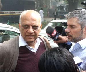 Former telecom secretary Siddharth Behura comes out after a Delhi court acquitted all the accused in the alleged multi-thousand crore rupee 2G spectrum scandal on Dec 21, 2017. The alleged ...
