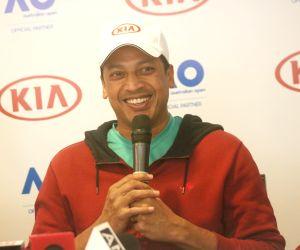 Mahesh Bhupathi at Australian Open Ballkids Program