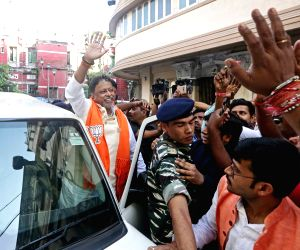 Mukul Roy at BJP office