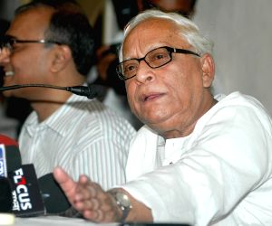 Buddhadeb Bhattacharjee's press conference