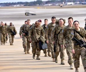 Fort Bragg (U.S.): 100 Paratroopers arrived home after being deployed in Afghanistan for 11 months