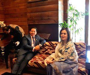 Nita Ambani, John Abraham meet Meghalaya CM