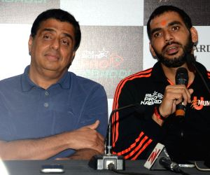 Press conference of Star Sports Pro Kabaddi Season 4