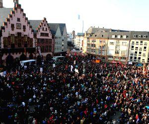 GERMANY FRANKFURT ECB PROTEST