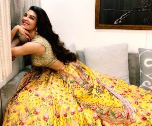 Free Photo: Grammy-nominated producer DJ Snake is in awe of the 'desi' avatar of actress Jacqueline Fernandez. Jacqueline took to Instagram to share stunning images of herself in a lehenga. With her wavy hair flowing freely, the actress looked elegan
