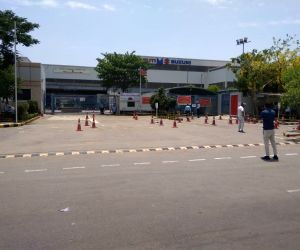 Free Photo: Free Photo: Maruti starts limited operations at its Manesar and sector 18 plants with about 1200 workers