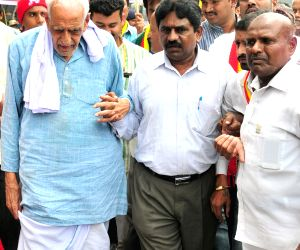 Demonstration to resignation of Y Bhaskar Rao