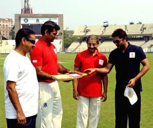 Cricket match Bengal Parivar XI vs Global Parivar XI  at Kolkata
