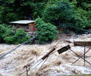 Rain damage in Fugong