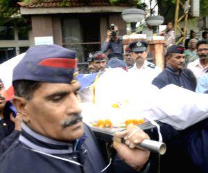 Funeral of fireman Nitin Yevlekar