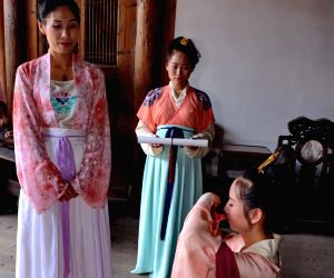 CHINA-FUJIAN-TRADITIONAL ADULTHOOD CEREMONY