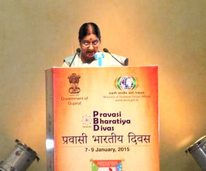 Valedictory Session of the Pravasi Bharatiya Divas 2015 - Sushma Swaraj