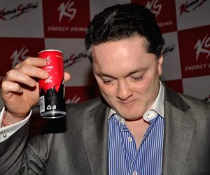 Gautam Singhania launches KS energy drink