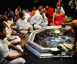 Yagna to pray for the victims of the Nepal earthquake