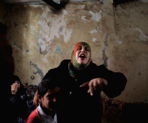 Israeli airstrike, at Jabalya refugee camp in the northern Gaza Strip