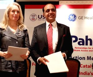 IPE Global and GE Healthcare sign MoU