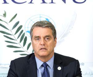 SWITZERLAND GENEVA WTO ROBERTO AZEVEDO