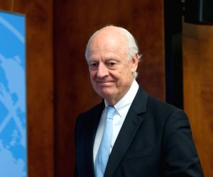 SWITZERLAND-GENEVA-SYRIA PEACE TALKS-UN SPECIAL ENVOY