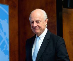 SWITZERLAND-GENEVA-SYRIA PEACE TALKS-UN SPECIAL ENVOY