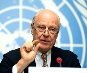 SWITZERLAND GENEVA UN SYRIAN TALKS