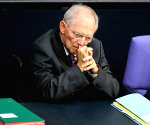 GERMANY-BERLIN-PARLIAMENT SESSION-BAILOUT PROGRAM FOR GREECE