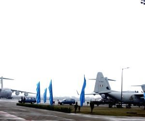 Hercules Aircrafts at  Hindon AFS