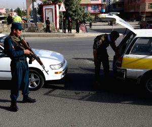 AFGHANISTAN GHAZNI SECURITY CHECKPOINT AL QAIDA LEADER